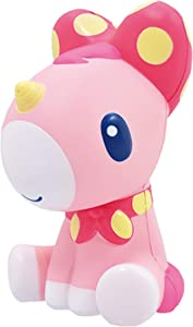 iBloom Unicorn Cute Animal Slow Rising Big Squishy Toy (Ruby, Red, Strawberry Scented, 6 Inch) [Kawaii Squishies for Party Favors, Stress Balls, Birthday Gift Boxes for Girls, Boys, Kids, Adults]