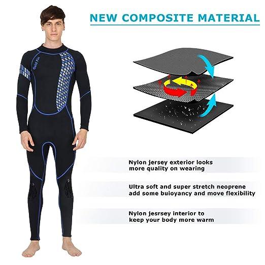 4c23d3176d2 Amazon.com  GoldFin Full Wetsuits 3mm Neoprene Wetsuit