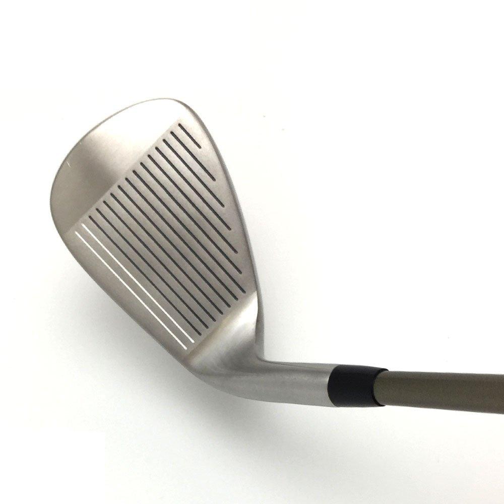 Japón Epron TRG 4-SW mancha de matriz de hierro acero cromado de Club de Golf (Regular Flex, grafito, agarre 0,6 pulgadas, pack de 8)