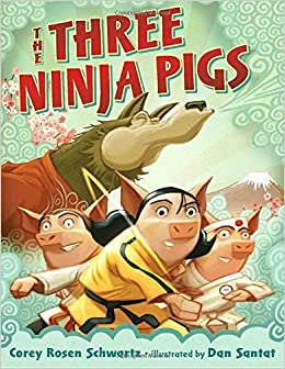 Image result for three ninja pigs