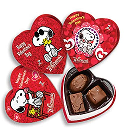 Amazon Com Whitmans Peanuts Valentines Day Assorted Chocolates Box