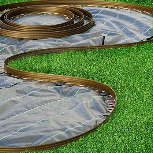 Bordure Da Giardino In Plastica.Bordo Da Giardino In Plastica Flessibile 10 M Per Confini