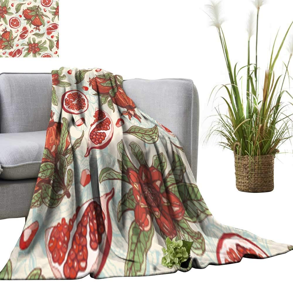 color03 60 x70  YOYI SingleSided blanketpop Art just a goo Girl ba Habits Quote Type Lips for Bed & Couch Sofa Easy Care 60 x63