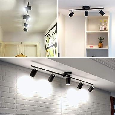 WSYYWD Lámpara de techo en blanco y negro Ángulo de iluminación ...