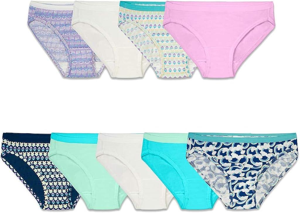 Fruit of the Loom Girls Cotton Bikini Underwear