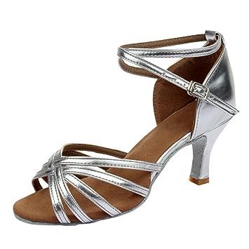 Amurleopard Damen Latein Schuhe 5cm Absatz Amazon De Sport Freizeit