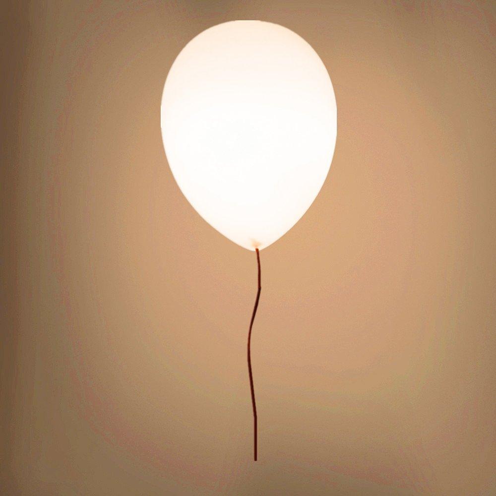 Foxi Ballon Plafonnier, Led Suspensions Lumières, Pendentif Lustre Créatif Verre Tête Simple Chambre Feux De Balcon Salon Allée Chambre Enfants Pour Les Ampoules E27