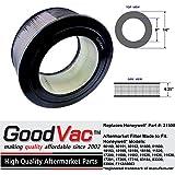 Honeywell Replacement 21500 True HEPA Air Purifier Filter 11520 50150 made by GoodVac