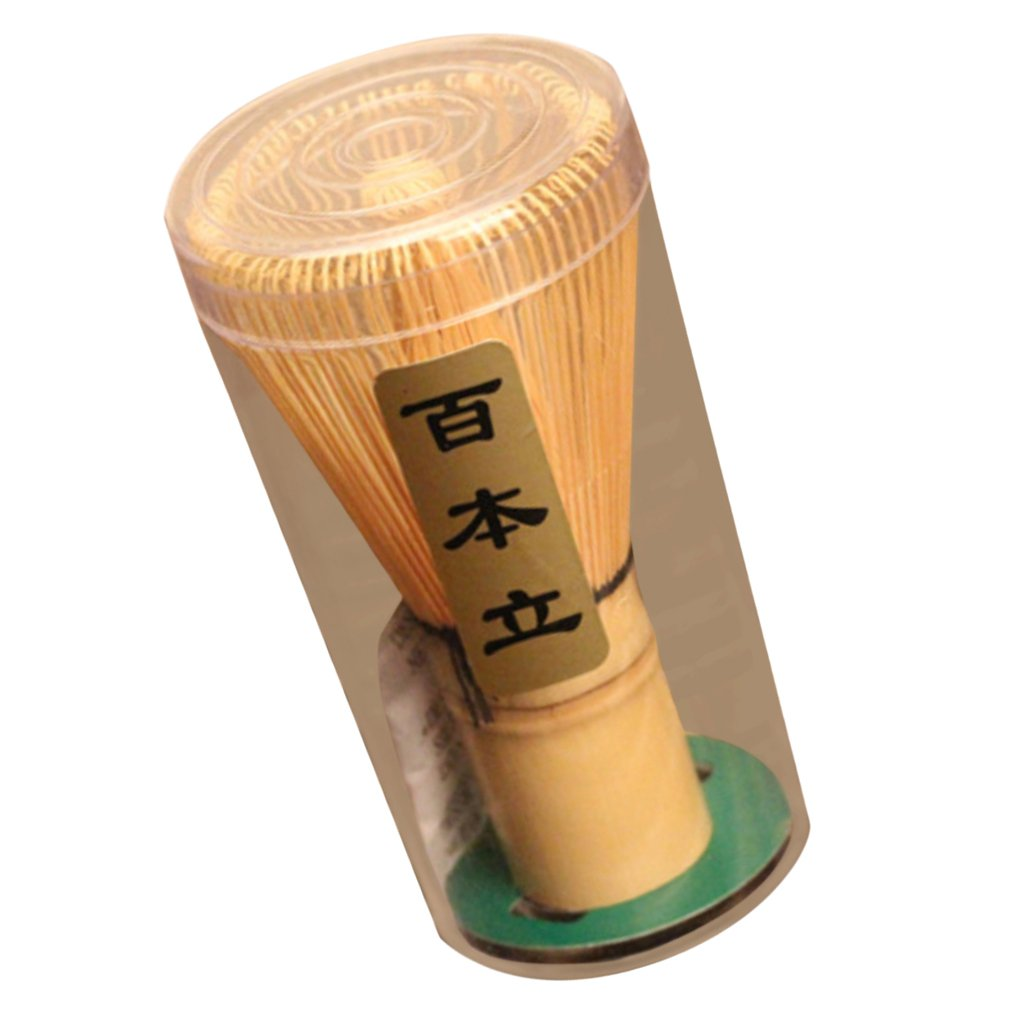 Baoblaze Japanese Style Matcha Whisk Green Tea Coffee Powder Bamboo Chasen 75-80Prong by Baoblaze