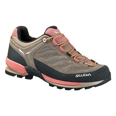 Salewa Mountain Trainer Beige, Damen EU 40 - Farbe Walnut-Rose Brown Damen Walnut - Rose Brown, Größe 40 - Beige