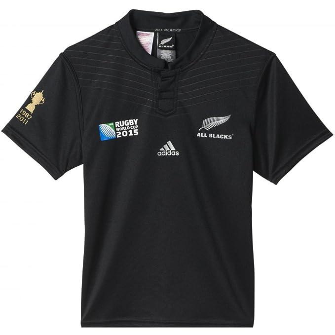 Nueva Zelanda All Blacks RWC 2015 - Camiseta de rugby para niños ...