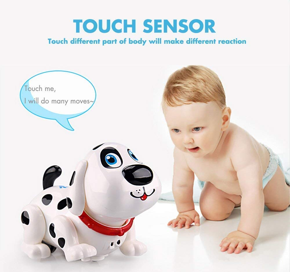 Electronic Dog,Interactive Puppy, Touch with Chasing, Walking, Dancing, Music, Interactive and Induction Toys for Boys or Girls Birthday Gifts by MIGO (Image #6)