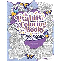 Psalms Coloring Books For Adults: Relaxing & Inspirational