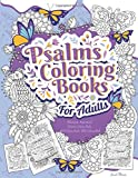 Psalms Coloring Books For Adults: Relaxing
