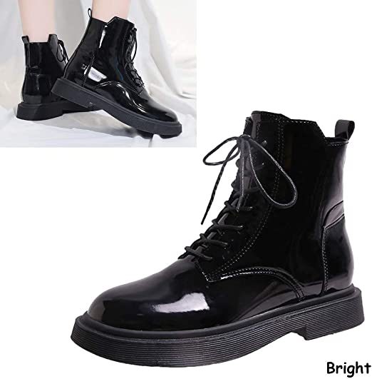 Velcro Vintage Winter Motorcycle Boots