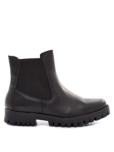 Stiefelette Schuhe BULLBOXER Stiefel Chelsea NEU schwarz