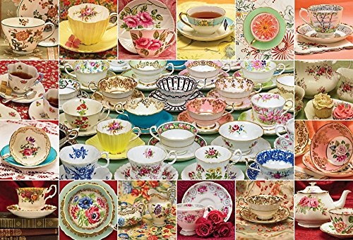 Cobble Hill Teacup Collection 2000 Piece Jigsaw (Musical Teacup)