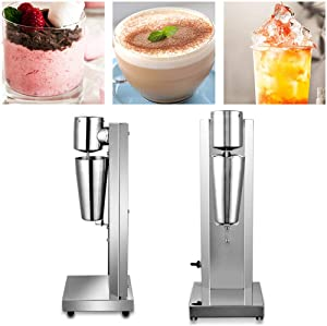 180W Commercial Electric Milkshake Maker Drink Mixer Shake Machine Smoothie Milk Ice Cream Blender 650ML