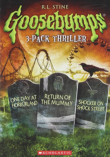 Goosebumps: One Day at Horrorland / Return of the Mummy / Shocker on Shock Street Triple -
