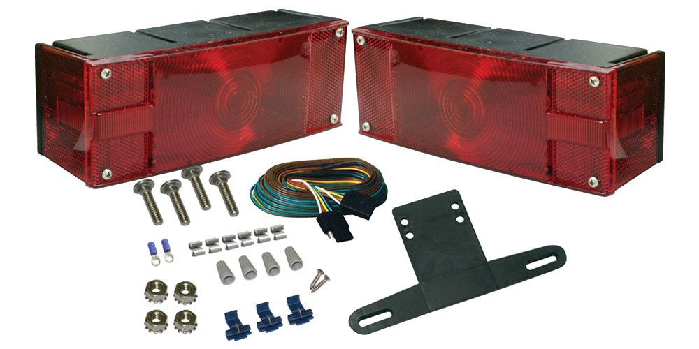 SeaSense Low Profile Incandescent Tail Light Kit, Submersible