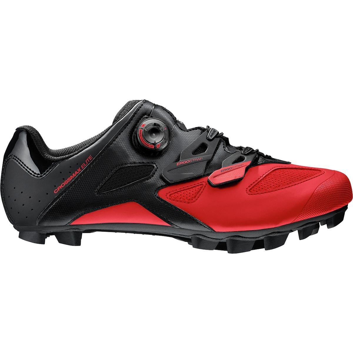 [Mavic] Crossmax Elite マウンテンバイクシューズ メンズ B01LWZ30WM 10.5 M US|Black/Fiery Red Black/Fiery Red 10.5 M US