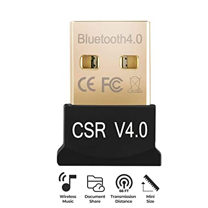 USB Bluetooth 4 0 Adapter Dongle for PC Laptop Computer Desktop Stereo  Music Skype Call Keyboard Mouse Support All Windows XP Vista 7 8 Win 10