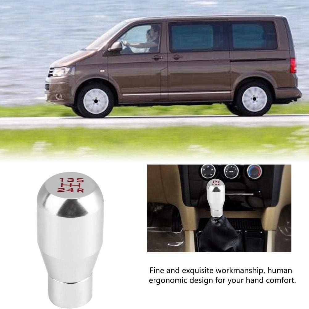 Gear Shift Knob Red Universal 5 Speed Car Manual Gear Shift Knob,Aluminum Alloy Handle Shifter Head for Car
