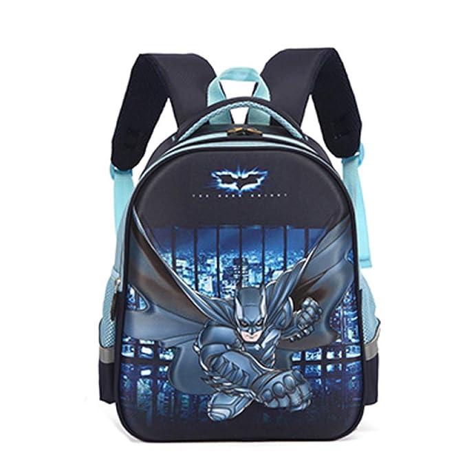 Mochila Escolar Para Niños Adolescentes Batman Ligeros Mochilas Para Niños Y Niñas Bolsas Escolares De 6-15 Años: Amazon.es: Ropa y accesorios