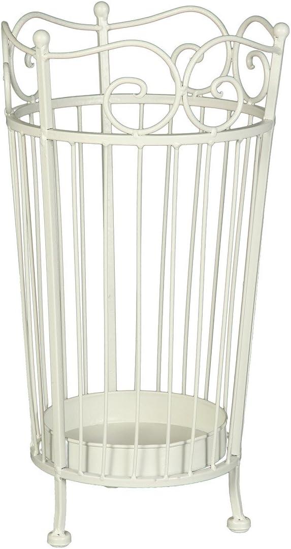 Ambiente casa 95266 portaombrelloni 46 cm bianco anticato