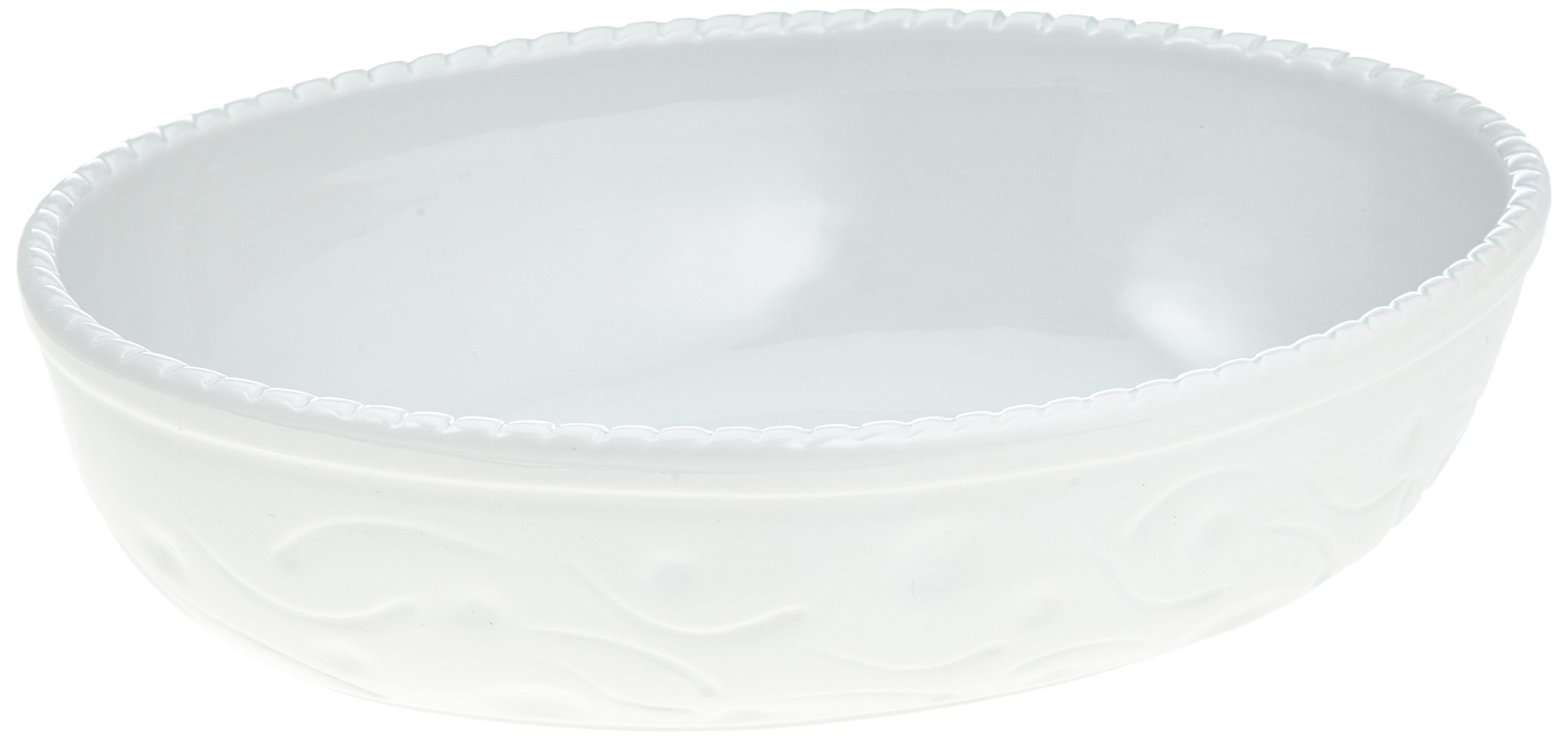 PADERNO - Oval Dishhighfluted Porcelain