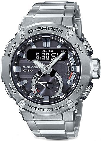 G-Shock By Casio Mens G-Steel GSTB200D-1A Analog-Digital Watch ...