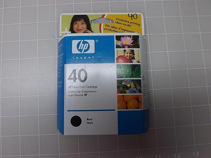 Cartucho 51640A - 40 Hp Negro: Amazon.es: Electrónica