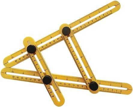 Magic Ruler multi-angle angleizer Modèle Outil pour constructeurs Craftsmen
