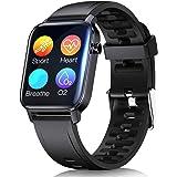 Smartwatch, Reloj Inteligente con Monitor de Ritmo Cardíaco, Reloj Deportivo con Monitor de Sueño, Calorías, Podómetro, Imper