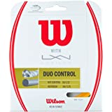 Wilson(ウイルソン) テニス ストリング ガット DUO CONTROL / FEEL / POWER (デュオコントロール/デュオフィール/デュオパワー) [ポリ×ナイロンハイブリッド]