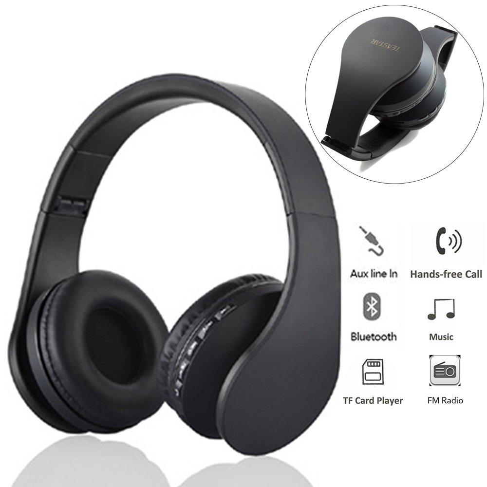 New Wireless Bluetooth Headphones Game Headset 2 1 Fm Card Multifunction Radio Headphones Audio Input For Phone Tablet In