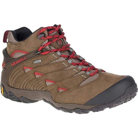 Merrell Mens Chameleon 7 Gore Tex Waterproof Mid Hiking Walking Boots
