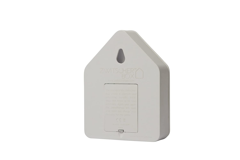Noyer Blanc//Blanc 11/x 12/x 3/cm Zwitcherbox Classique Zwitscherbox