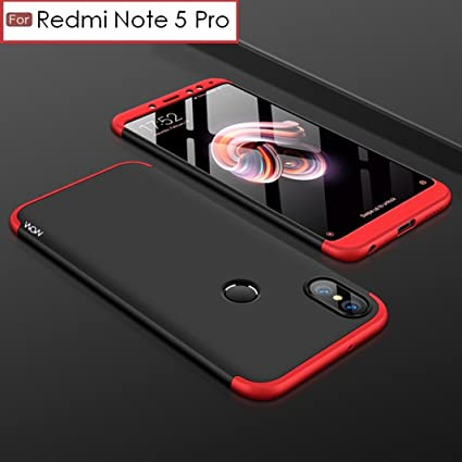 0bd0d58f2 ... 1 Double Dip Case   Anti Slip   Super Slim  Hard  Hybrid PC All Angle  Protection Lightweight Matte Hard Back Case Cover for XIAOMI MI REDMI Note  5 PRO ...