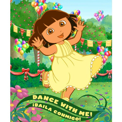 Dora the Explorer Dance with Me Fleece