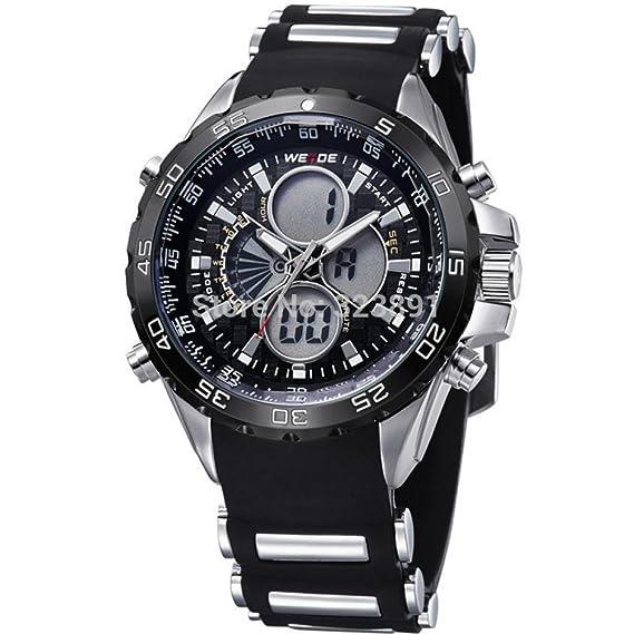 Regalo de la belleza de la marca de moda Weide 2015 Nuevo Led reloj Digital de hombre ...