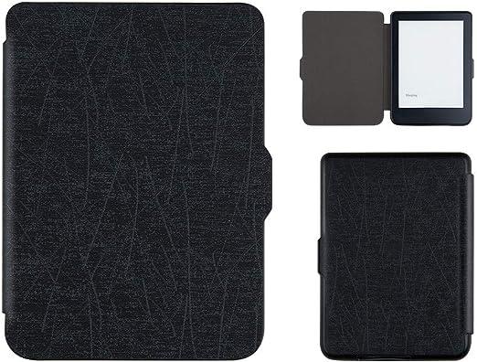 Liqiqi - Funda de Piel para Tablet Kobo Clara HD e-Book Ereader con función de Encendido/Apagado, Protector de Pantalla Plegable para KOBO Clara HD 2018 6 Pulgadas: Amazon.es: Hogar