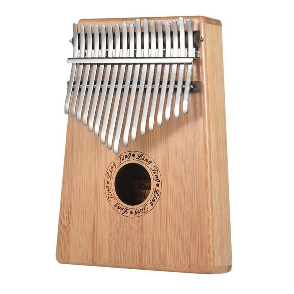 Thumb piano Kalimba 17-tone finger piano kalimba beginner portable musical instrument simple design exquisite workmanship by Dvicommedy