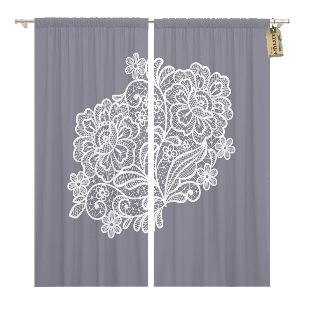 Amazon Golee Window Curtain Floral Lace Flowers Crochet Pattern