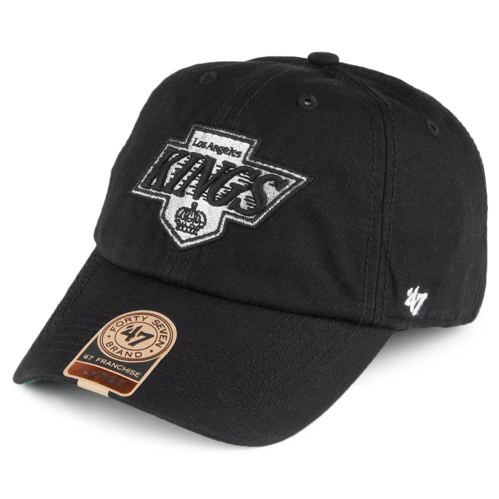 3c438ba2 47 Brand L.A. Kings Franchise Baseball Cap - Black MEDIUM: Amazon.co ...