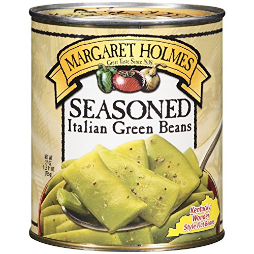 MARGARET HOLMES SEASONED ITALIAN GREEN BEANS 27 oz (Pack of 5)
