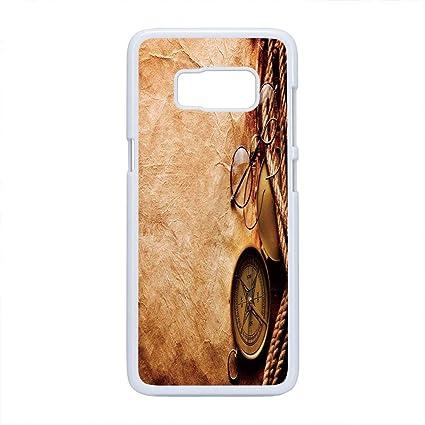Amazon com: Cell Phone Case Compatible Samsung Galaxy S8,Compass