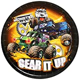 BirthdayExpress Monster Jam Party Supplies - Dinner Plate (48)