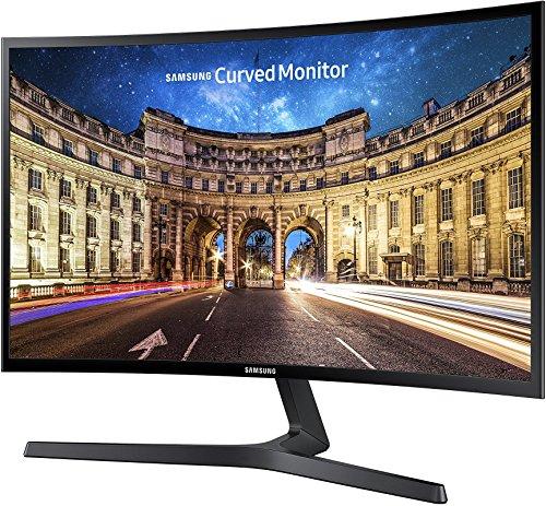 Samsung C27F398F 68,58 cm (27 Zoll) Curved Monitor (HDMI, D-Sub, 4ms Reaktionszeit, 60 Hz Wiederholungsfrequenz, 1920 x 1080 Pixel) schwarz