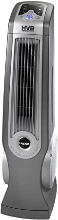 Lasko 4930 Oscillating High Velocity Tower Fan with Remote Control